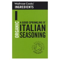Waitrose Cooks' Ingredients organic Italian seasoning