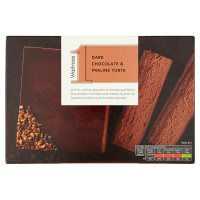 Waitrose 1 dark chocolate & praline torte