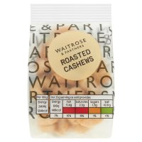 Waitrose LOVE Life roasted cashew nuts