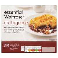 essential Waitrose cottage pie