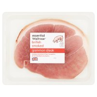 essential Waitrose smoked gammon steak