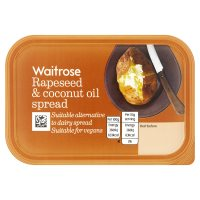 Waitrose Rapeseed & Coconut Oil Spread