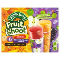 Robinsons fruit shoot orange blackcurrant & apple