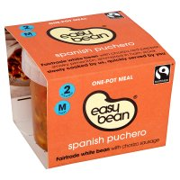 Easy bean Spanish puchero