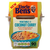 Uncle Ben's Vegetable & Coconut Curry
