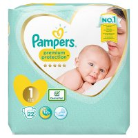 Pampers New Baby Size 1 Carry 23 Nappies