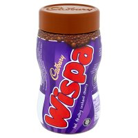 Cadbury Wispa hot chocolate jar