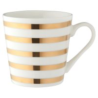 Waitrose Gold Stripe Mug