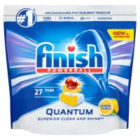 Finish Quantum Max Lemon Dishwasher Tablets, x30
