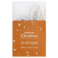 Waitrose Christmas 20 LED Lights