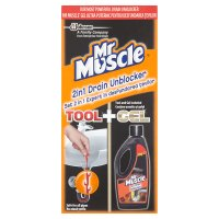 Mr Muscle 2in1 drain unblocker