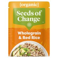 Seeds of Change quinoa & flax wholegrain red rice