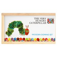 Eric Carle the very hungry caterpillar wooden domino set