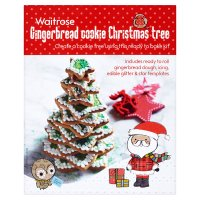 Waitrose gingerbread cookie Christmas tree kit