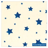 Ideal Home Range Emma Bridgewater napkins 33cm starry skies