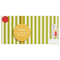 Waitrose Bread & Butter Puddings