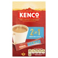 Kenco 2 in 1 smooth white coffee