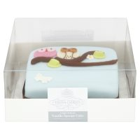 "Fiona Cairns 6"" Owls Golden Sponge Cake"