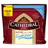 Cathedral City mature Lighter