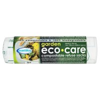 Eco care garden compostable refuse sacks