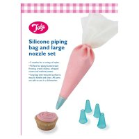 Tala silicone icing bag set with 5 nozzles