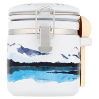 Halen Môn pure white sea salt kilner