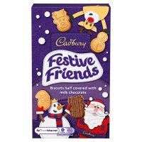 Cadbury Festive Friends biscuits