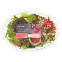 Waitrose Red velvet rice salad
