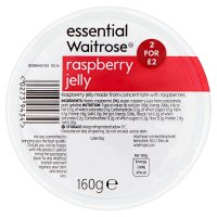 essential Waitrose raspberry jelly