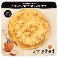 Unearthed mini free range Spanish potato omelette