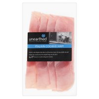 Unearthed Italian cooked ham, 4 slices