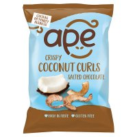 Ape Salted Chocolate Crispy Coconut Curls