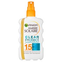 Ambre Solaire SPF15 clear protect+ spray