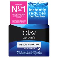 Olay Anti-wrinkle Instant Hydration Anti-ageing Moisturiser Night Cream