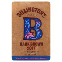 Billington's dark brown soft sugar