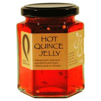Quince Products hot quince jelly