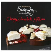 Waitrose seriously chocolatey cherry chocolate gateau