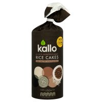 Kallo sea salt & black pepper rice cakes