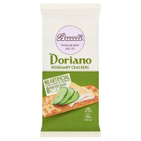 Doria Doriano Crackers Rosemary & Sea Salt