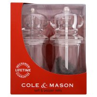 Cole&Mason acrylic pepper and salt mill set