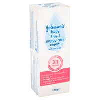 Johnson's baby 3 in 1 nappy cream