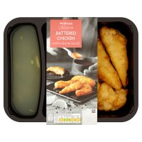 Waitrose Battered Chicken with Lemon Sauce