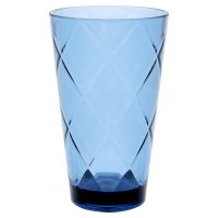 Waitrose Blue Acrylic Hi Ball Tumbler
