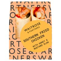 GOOD TO GO southern fried chicken wrap