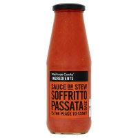 Waitrose Cooks' Ingredients soffritto passata pasta sauce