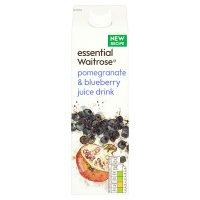essential Waitrose Pomegranate & Blueberry Drink