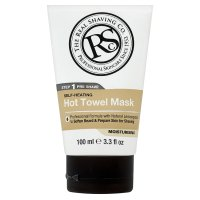 The real shaving co hot towel mask