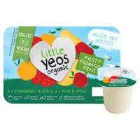 Little Yeos Strawberry & Peach Pear & Apple