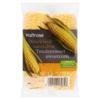Waitrose Ltd selection tendersweet sweetcorn