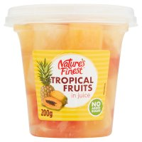 Nature's Finest Juicy Tropical Fruit Salad in Juice